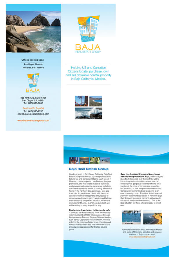 Graphic Design - Baja Real Estate Group
