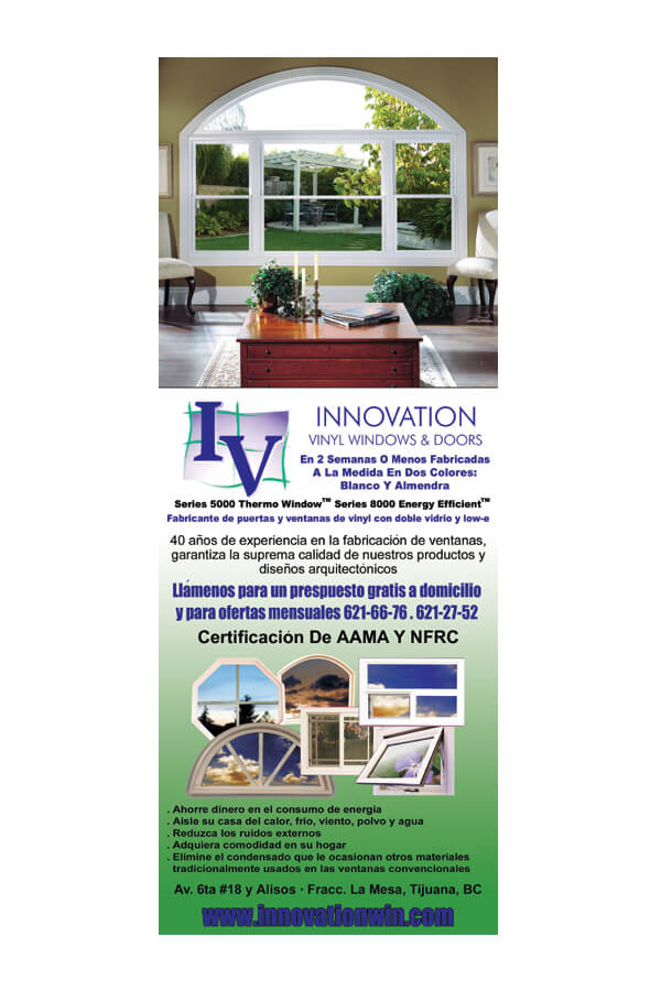Door Hanger - Innovation Vinyl Windows and Doors