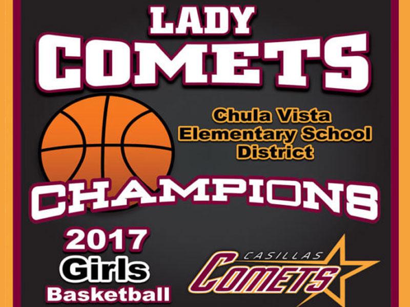 Championship Banner - Casillas Comets