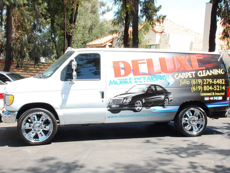Vehicle Wrap - Deluxe Mobile Detail