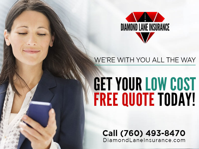 Graphic Design - Diamond Lane Insurance - Chula Vista Marketing