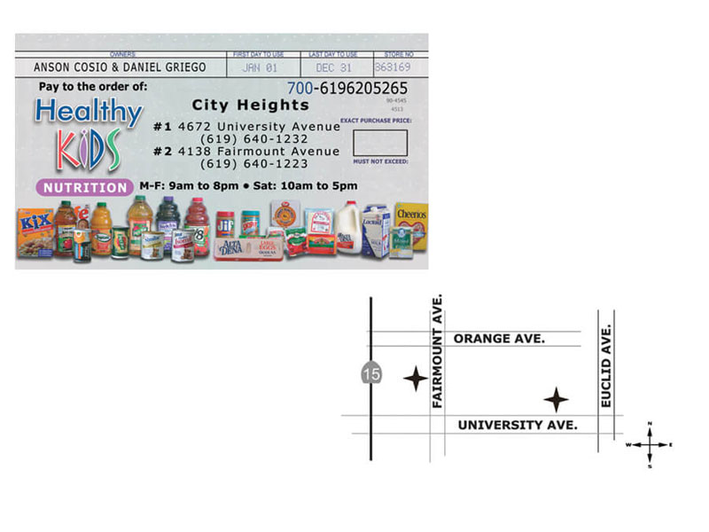 Business Card - Healthy Kids