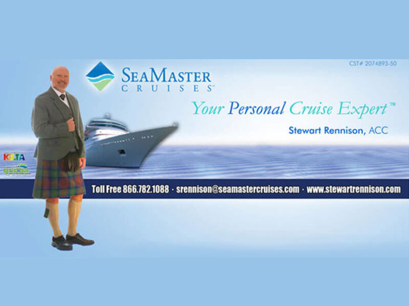 Banner Sign - Sea Master Cruises