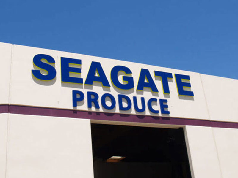 Channel Letters - Seagate Produce