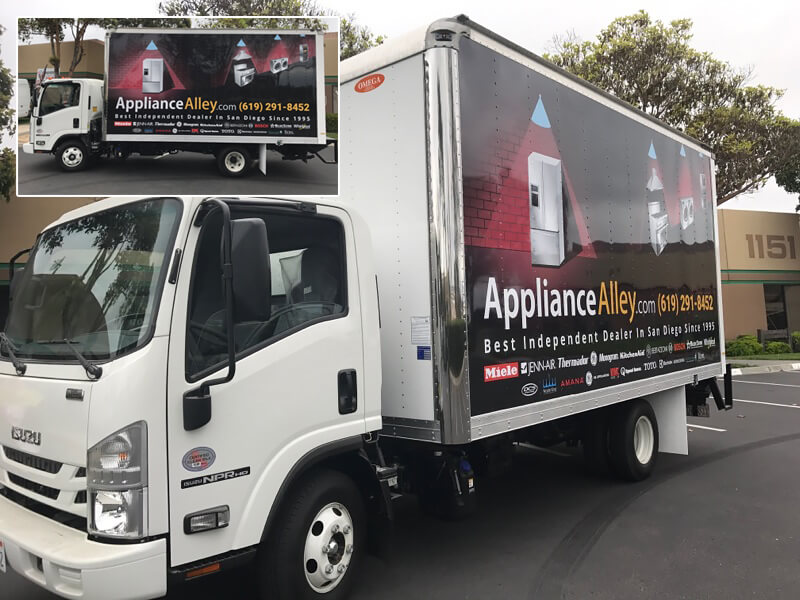 Vehicle Wrap - Appliance Alley