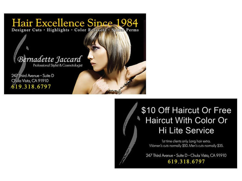 Business cards chula vista marketing bjs hair salon read more business card reheart Images