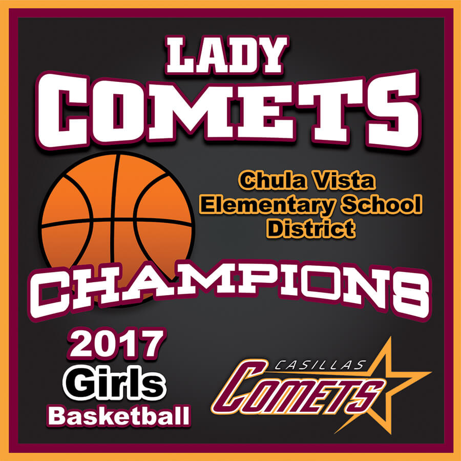 Casillas Comets Basketball - Approved Banner